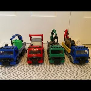 4 Amazing Little Trucks with lots of detail